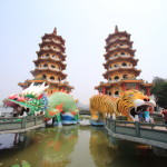 "Kaohsiung's leading tourist attractions and the popular spot ""Lotus pond"" region around hotel"