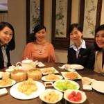 「シャトードシン高雄」広東料理の「港都茶楼」で豪快なワゴンサービス飲茶ディナー!