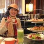 """Silks Place Yilan 蘭城晶英酒店"" 午餐在光線充足的 ""The Lounge 大廳酒吧 "" 和下午茶"