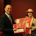 """Silks Place Yilan"" ""Red Lantern"" It presented the ""silk"" of Matsui Kigyo of traditional Japanese crafts!"