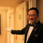 """Sherwood Taipei"" Specialty Butler called Presidential Suite exclusive butler!"