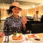 「シャーウッド台北」地下ブッフェレストラン「B-one」にてバラエティに豊んだ朝食!