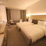 「台北マリオットホテル」スタンダードクラスのシンプルモダンなクラシックルーム紹介