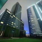 """Taipei Marriott Hotel 台北萬豪酒店"" 各種球房具有空中花園的花園教堂"