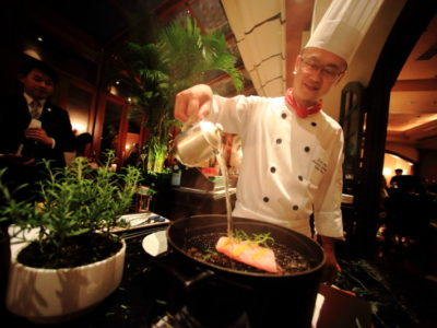 """The Sherwood Taipei 台北西華飯店"" 意大利美食 ""TOSCANA"" 豪華全道菜的晚餐"