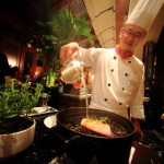 「シャーウッド台北」イタリアン「トスカーナ」にて豪華フルコースディナー
