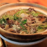 "In game cuisine is the Hunter in the Kii Mountain range ""高千代"" ate bear stew!"