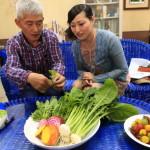 有機栽培「元気家農業協同」でつくられるオーガニック野菜の「TOMO'S FARM」を見学