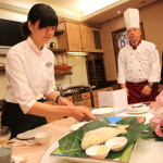 "Promisedland flower Lotus ideal Earth passed Crowne Plaza Hotel Chinese restaurant ""flavor 餐廳"" in collaboration with dinner"