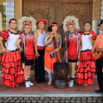 Promisedland flower Lotus ideal Earth passed Crowne Plaza Hotel flamenco shows and native rice-cake making experience