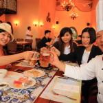 「Promisedland 花蓮理想大地渡假飯店」ブッフェスタイルのカジュアルディナー