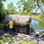 「Promisedland 花蓮理想大地渡假飯店」自然豊かなのどかな河川をボートラフティング