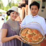 Promisedland flower Lotus ideal Earth passed Crowne Plaza Hotel family popular bread making classes are held every day!