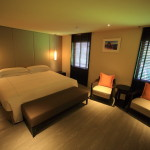 "In ""big liquor store The Gaia Hotel"" rooms with chic rooms"