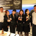 "Sherwood Taipei-Hong Kong S.A.R. Michelin ""The Butchers Club Burgers"" throughout the event!"