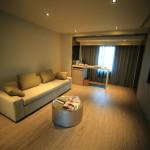 「大地酒店 The Gaia Hotel」広々と快適な広さを誇る2つのスイートルーム