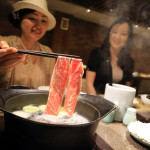 "May Yee scoliosis curvature of ""Earth liquor store The Gaia Hotel"" healthy Shabu Shabu restaurant"