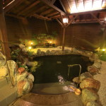 "You can enjoy a ""big liquor store The Gaia Hotel"" Beitou hot springs open-air bath with bath"