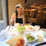 「大地酒店 The Gaia Hotel」アジア各国の料理が小鉢で楽しめる朝食