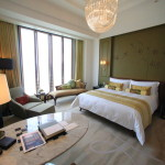 "Club Deluxe room boasts the largest ""Mandarin Oriental-Taipei, Taiwan"