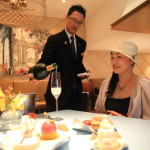 """Mandarin Oriental Taipei, Oriental Lounge on champagne and sweets"