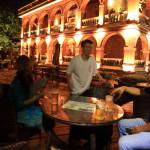 「淡水紅樓」昼とは異なるライトアップでムーディーな夜の雰囲気を楽しむ!