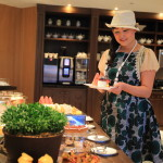 """Mandarin Oriental Taipei, private club floor Oriental lounge is an elegant breakfast"