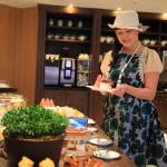 「マンダリンオリエンタル台北」クラブフロア専用オリエンタルラウンジで優雅な朝食