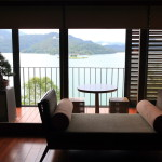 """The LALU Han, AOI House"" Lake Lakeview suites is a modern, peaceful"