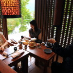"""The LALU"" ""Pool Side Tea House"" Where the fragrant Taiwan tea and dim sum can enjoy"