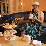 Talk with Patisserie chef at Mandarin Oriental Taipei elegant jade lounge new