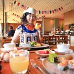 「The LALU 涵碧樓」朝食会場で「Shimoo Design」の器とコラボレーション
