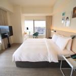 """""""amba Taipei Songshan 台北松山意舍酒店"""" 非常漂亮的景色!高層樓層角落的房間,台北101可以忽視!"""