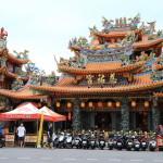 """amba Taipei Songshan 台北松山意舍酒店"" 參觀美麗的東西是著名的自由城之旅 ""松山慈祐宮""!"