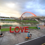 """Amba Taipei Songshan"" Sunset in the popular Songshan Rainbow Bridge to the couple for free City Tour"