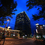 """Amba Taipei Songshan"" Overlooking the night view of Matsuyama area from illumination the hotel!"