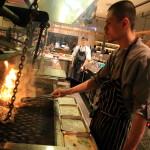 「amba Taipei 松山」BBQスタイルのカジュアルレストラン「que」でのディナー