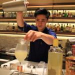 "taste the special cocktails in the bar of ""Amba Taipei Songshan"" BBQ restaurant ""que""!"