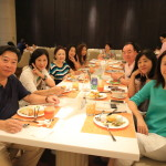 """Taipei beauty Fu big Hotel Grand Mayfull"" friends around the delightful breakfast buffet"