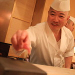 "Enjoy a traditional nigiri ""sushi Fujimori"" Edo-style and Japanese-based"