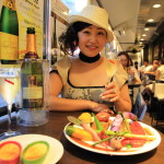 """I'm French and Italian AKASAKA"" grow vegetable specialist dishes!"