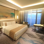 """Taipei beautiful Fuzhou University Hotel Grand Mayfull"" modern natural prestage Delux room"