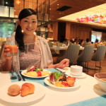 """Taipei beautiful Fuzhou University Hotel Grand Mayfull"" breakfast buffet eat delicious beef noodle & Chai noodles"