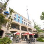 "Danshuei resort hotel ""Fullon Hotel"" Hotel luxury liner type is located in the Fishermen's Wharf"