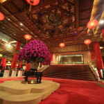 """Grand Hotel"" Hotel to tell the towering Chinese traditional arts beauty in the middle of the Yuanshan"