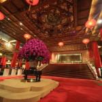 「圓山大飯店」圓山の中腹にそびえ建つ中国伝統芸術の美を伝えるホテル