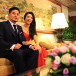 """""""大賓館大酒店""""蒂莫西 ·&舉行一場婚禮的琥珀色 !"""