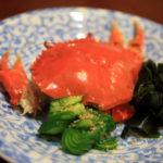 「旬の料理 大内」幻の蟹と言われている浜名湖産どうまん蟹を堪能!
