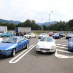 Gather old Maserati Maserati Autumn Touring in Hida Takayama!
