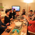 Hold the Toyama winter Buri in precious sake enjoy party!